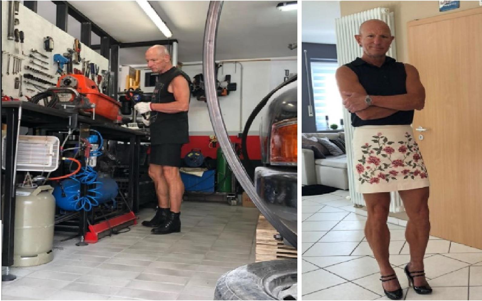 Mark-Bryan-ingeniero-robotico-y-padre-de-familia-que-usa-falda