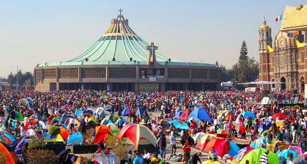 Millonaria ausencia en la Basílica de Guadalupe en este 2020 peregrinacion