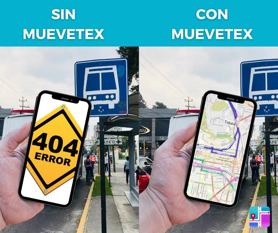Muevetex, más que una aplicación de transporte