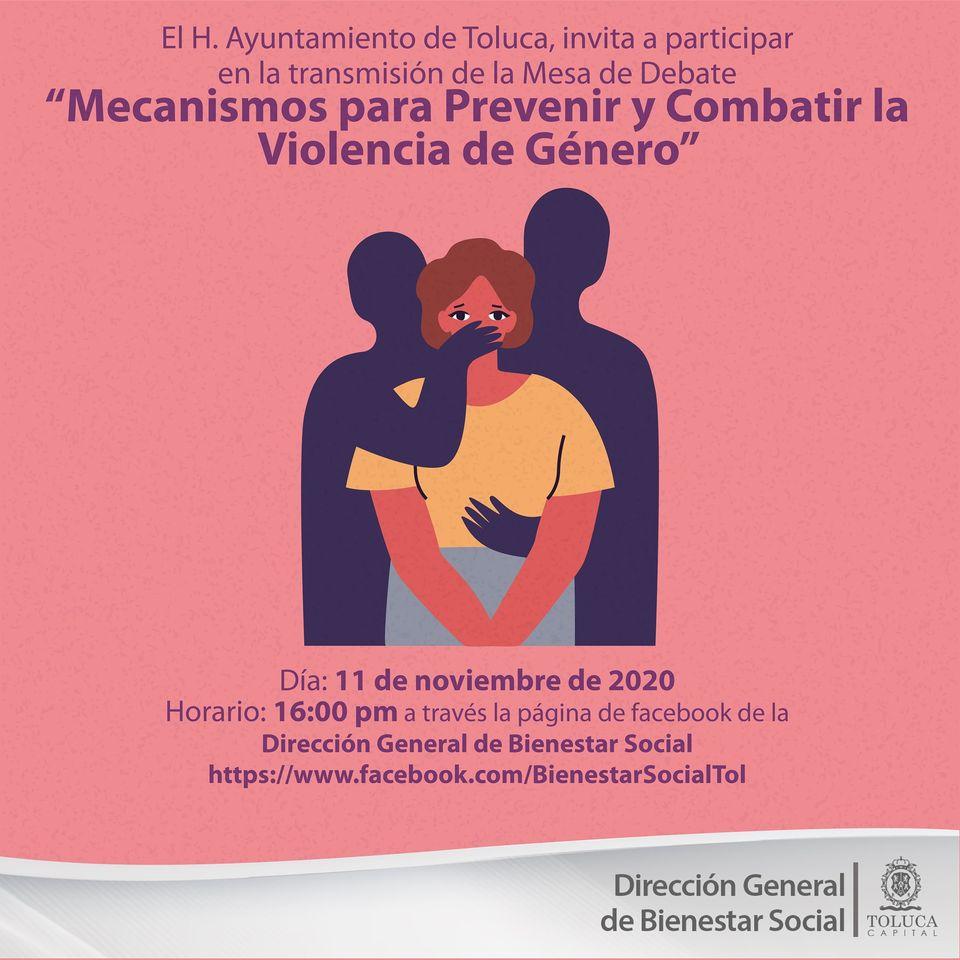 PREVENCION Y COMBATE A LA VIOLENCIA DE GÉNERO