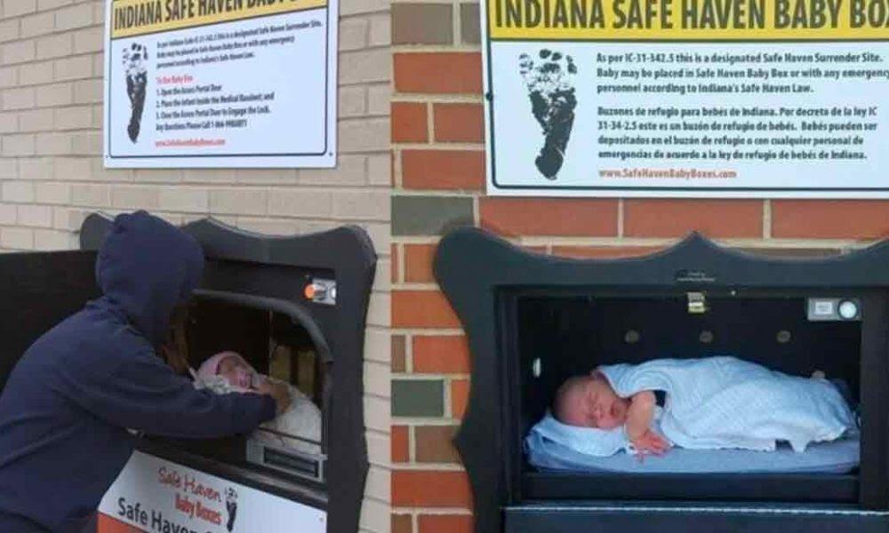 Así es el primer buzón para bebés no deseados en Bélgica