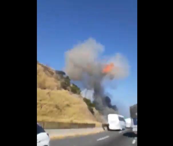 (Video) Así fue la explosión de la pipa de gas en la Tepic-Guadalajara