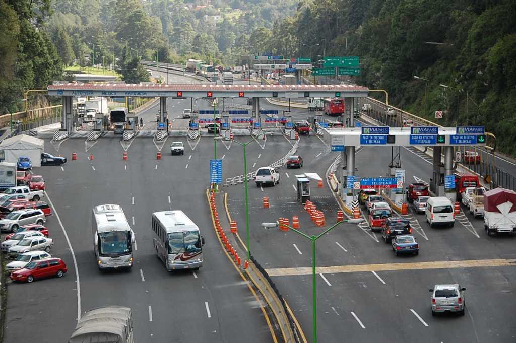 Cerraran carriles de la México-Toluca por trabajos del Tren Interurbano