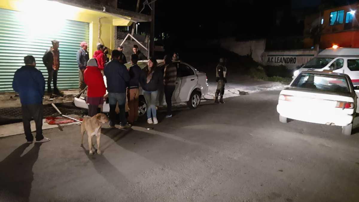 Conductora en Edomex atropelló a 17 personas