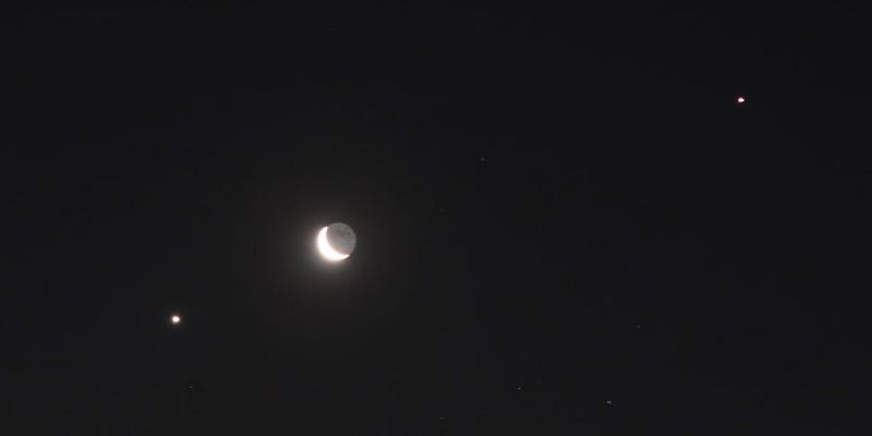 Diciembre llegará con fenomenal conjunción de Júpiter y Saturno