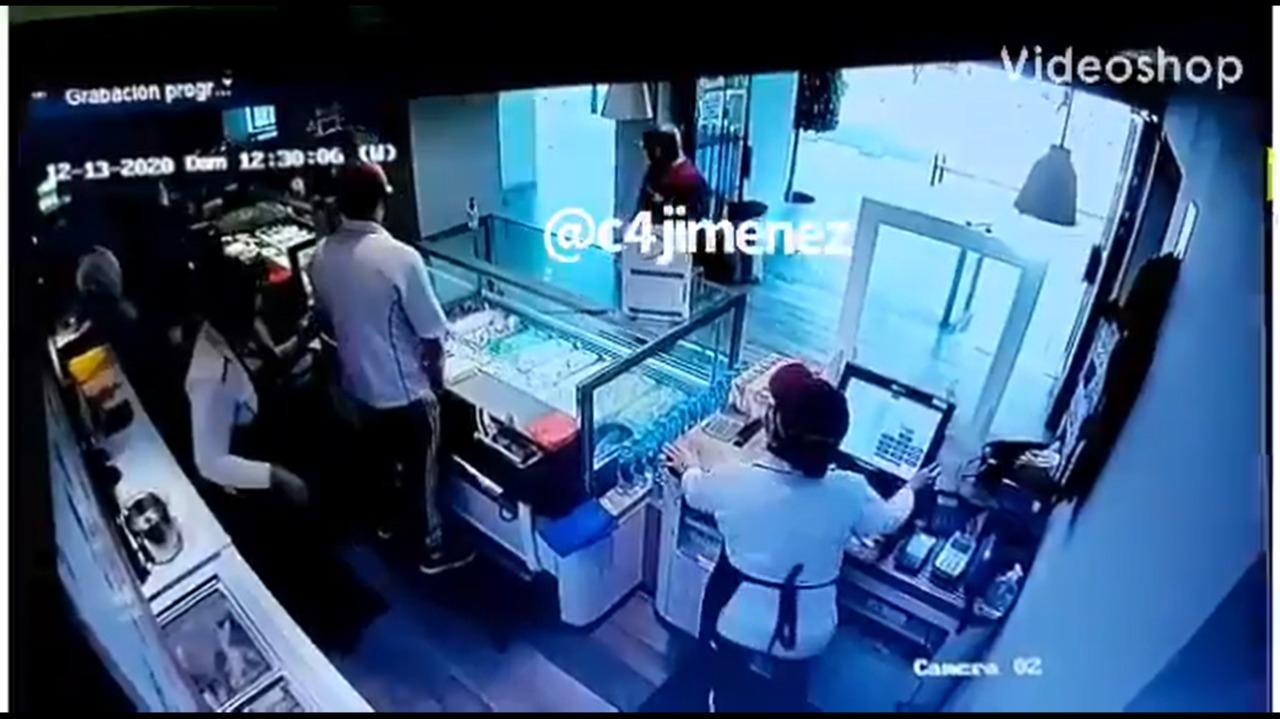 Video || Extranjero es golpeado y asaltado en Polanco