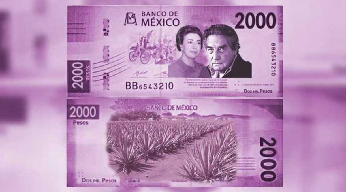 Billete 2 mil pesos de Banxico Quizá estamos hablando del año 2023, que es para cuando está previsto el proyecto de la nueva familia de billetes