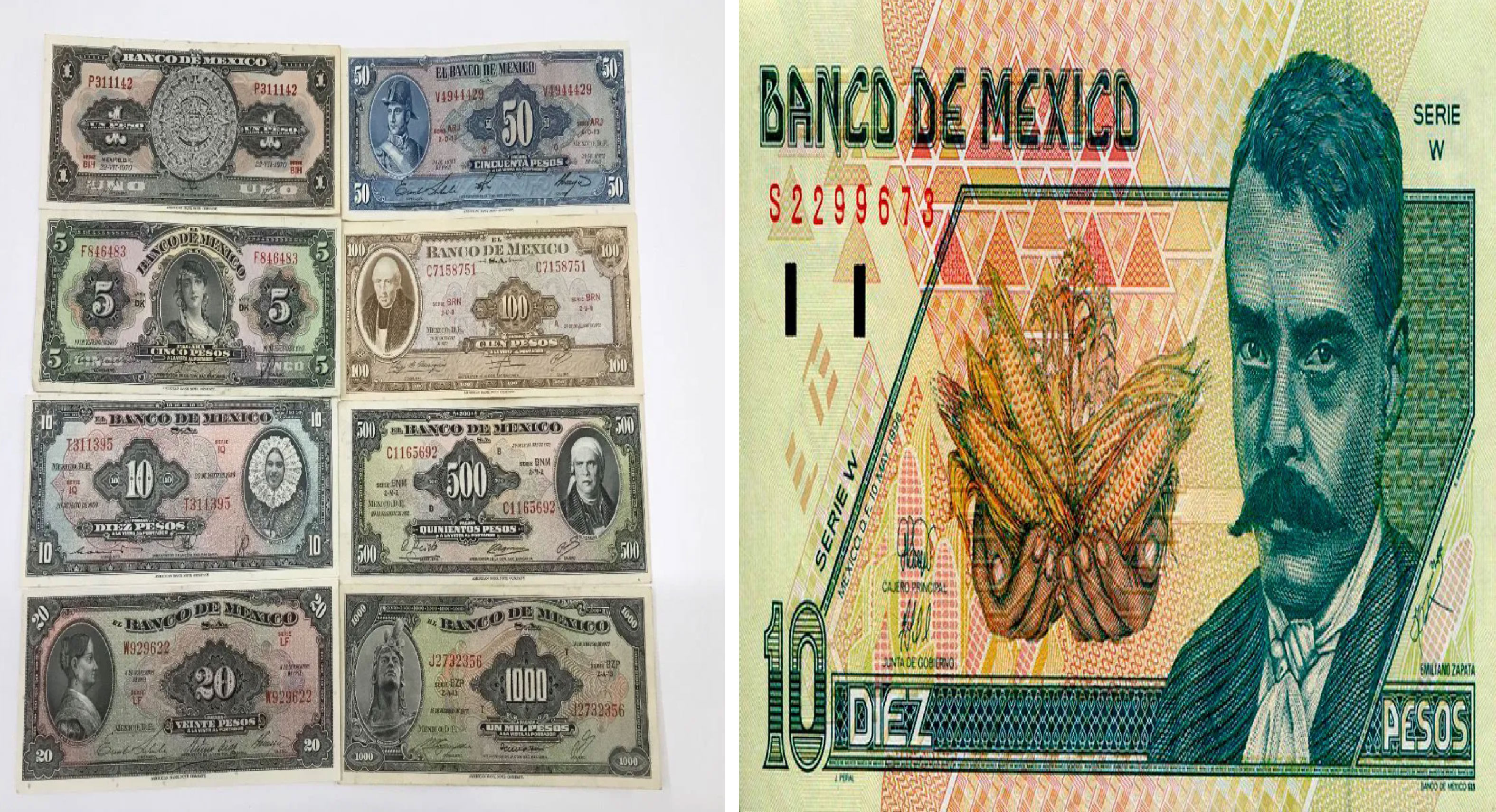 Te decimos cómo y dónde cambiar tus billetes antiguos