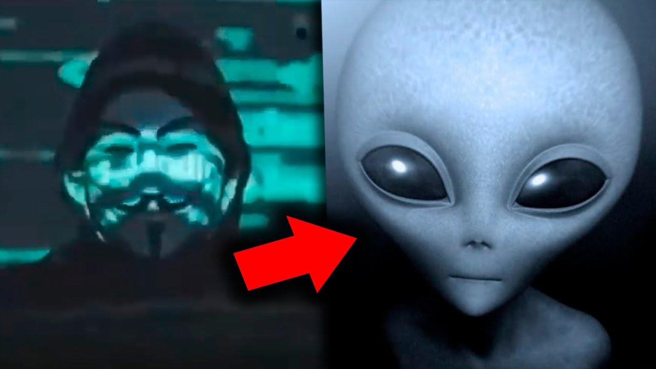Anonymous alerta de un posible ataque extraterrestre gracias a un audio del área 51