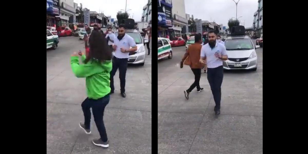 Video || Telmex y Total Play hacen competencia de baile y Telmex perdió