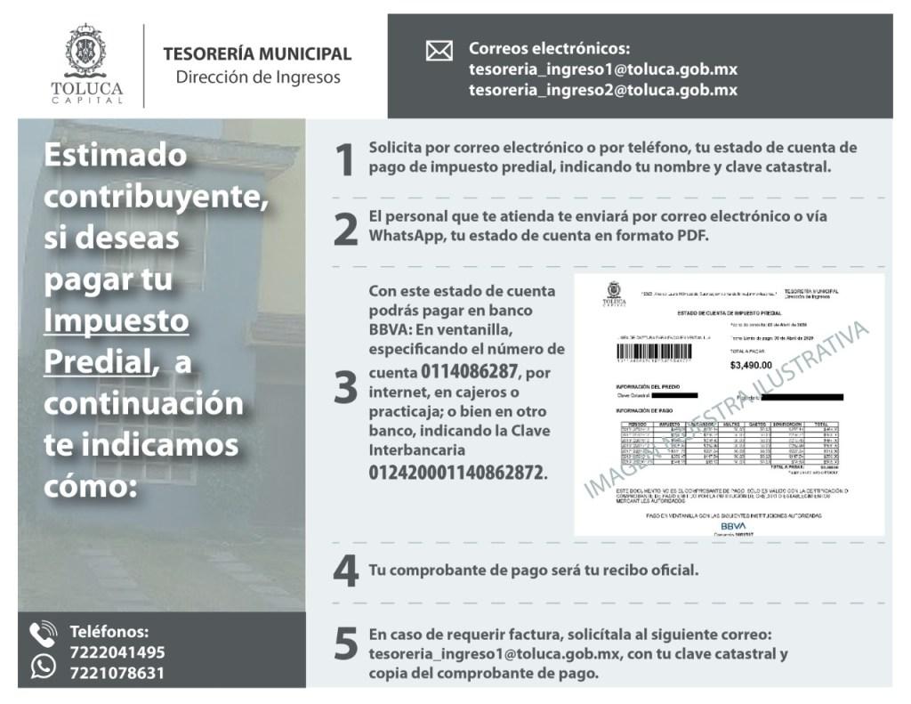 Conoce los beneficios fiscales que ofrecerá Toluca para el 2021