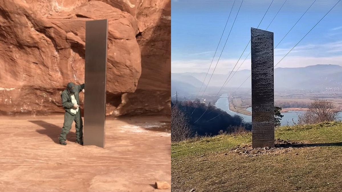 ¿Qué son los monolitos que aparecieron en Estados Unidos y Rumania?