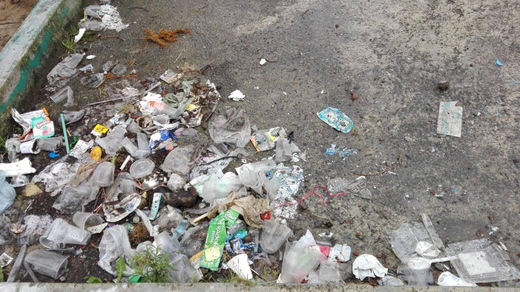 Contaminación, desechables un solo uso