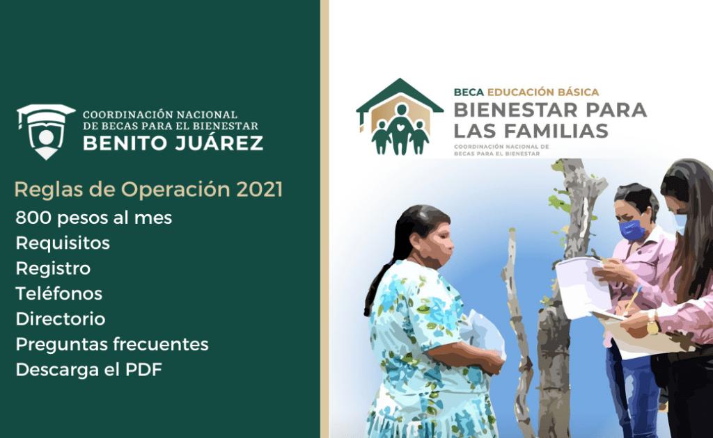 ¿Cómo obtener la Beca Bienestar para las familias de mil 600 pesos?