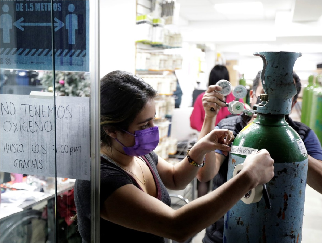 Conoce los establecimientos con disponibilidad de oxígeno en todo México