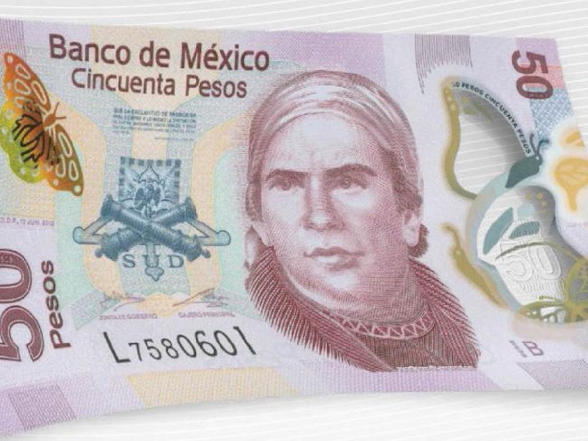 banxico saca de circulación billetes de 50 pesos con Morelos