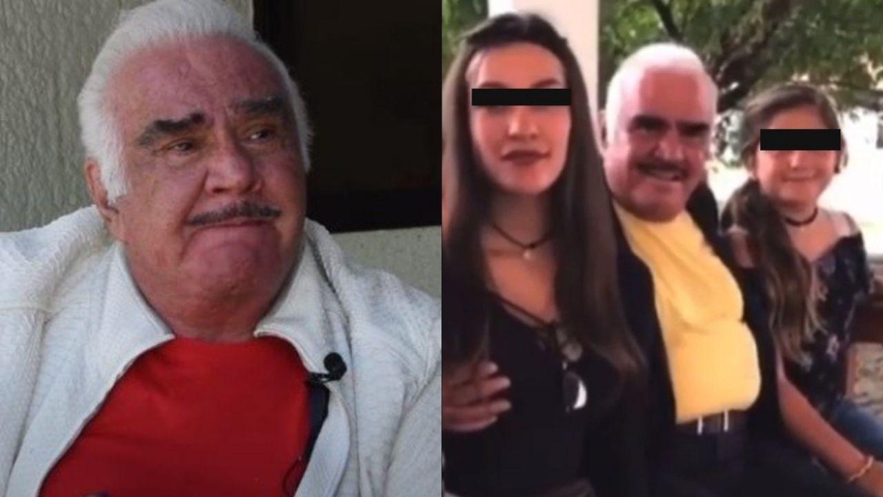 Vicente Fernández se disculpa llorando por tocar a fan    VIDEO