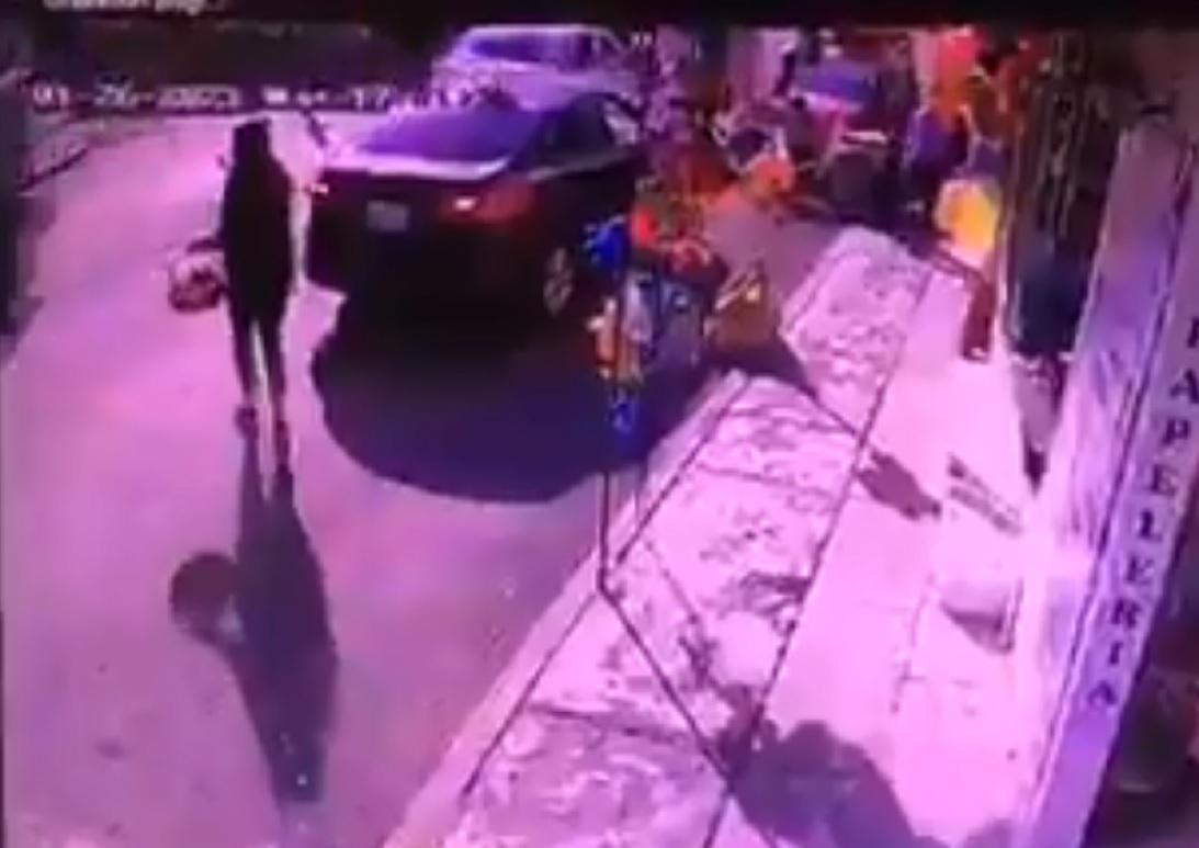 Video    Mujer embarazada es atropellada en Metepec