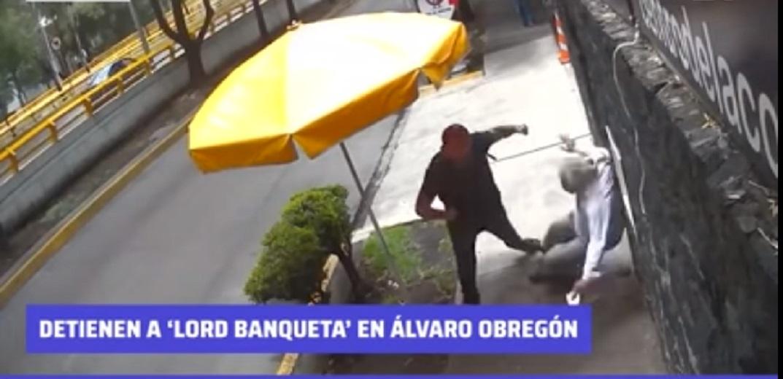 «Lord Banqueta» es detenido después de agredir a un adulto mayor en la Ciudad de México    VIDEO