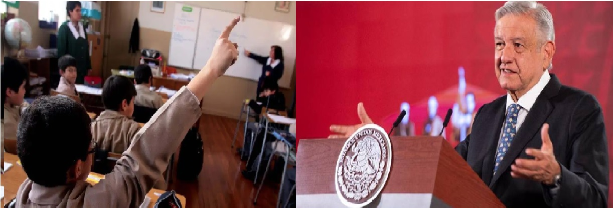 Andrés Manuel López Obrador, indico el pasado 24 de febrero que no prohibirá el retorno a las aulas en escuelas privadas.