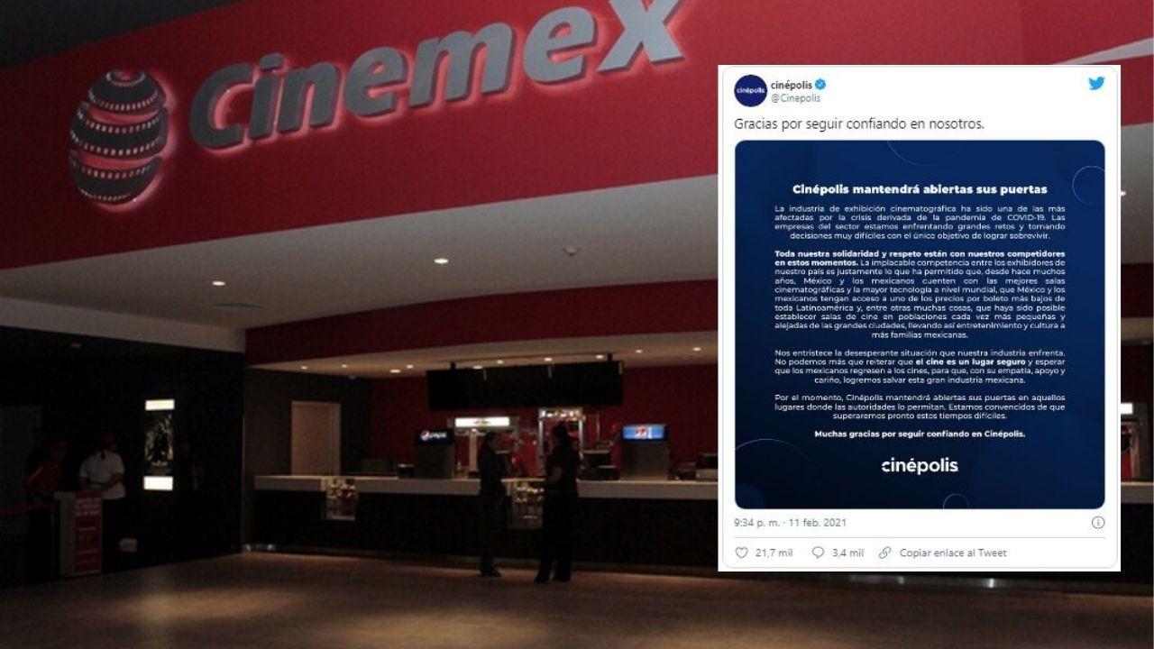 cinepolis-envia-conmovedor-mensaje-a-cinemex-por-cierre-de-salas