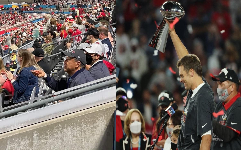 Despiden a funcionarios del Edomex por asistir al Super Bowl