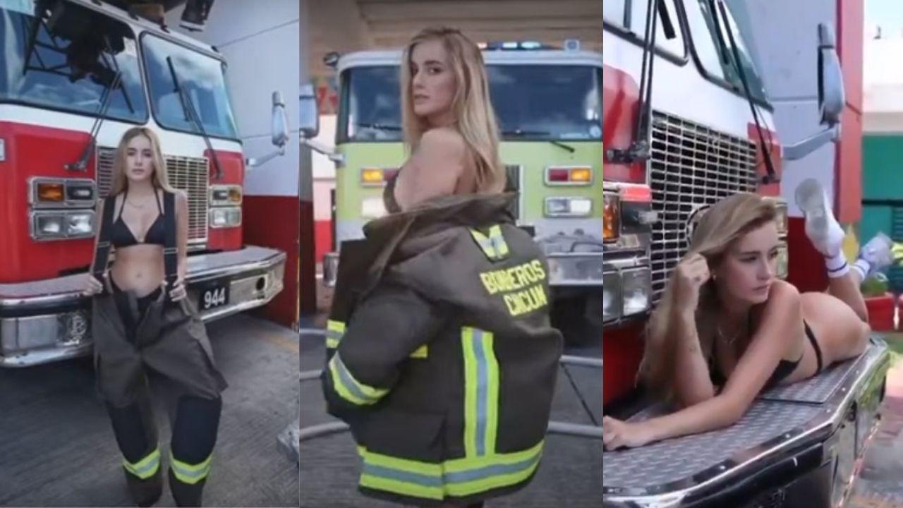 modelo-de-play-boy-graba-video-en-estacion-de-bomberos-cancun