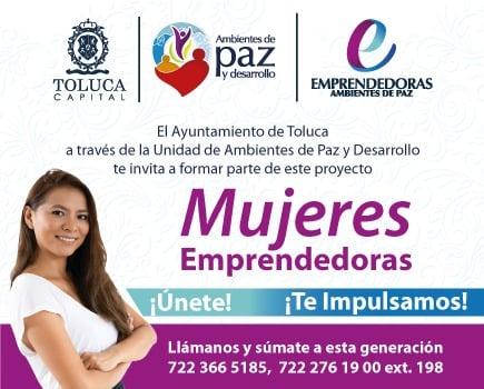 Las mujeres interesadas deberán inscribirse a más tardar el 5 de marzo, ya que la capacitación dará inicio el lunes 8 del mismo mes.