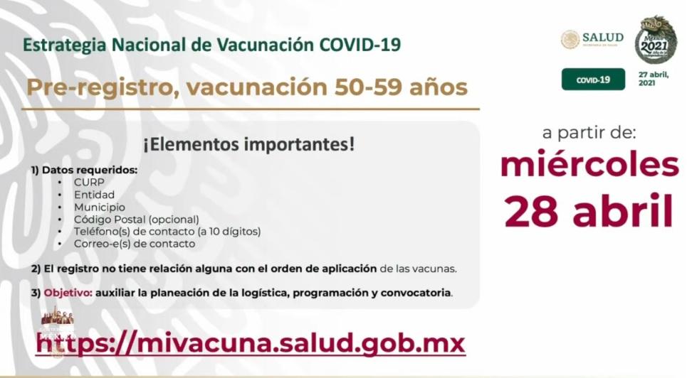 registro de vacunación de 50 a 59 años en mi vacuna 28 de abril