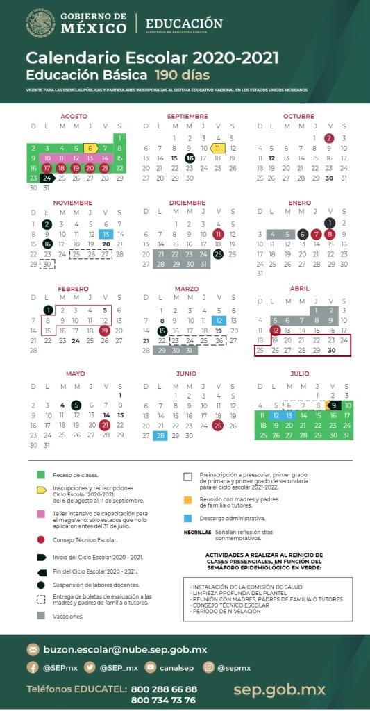 SEP comparte posible fecha para regreso a clases presenciales