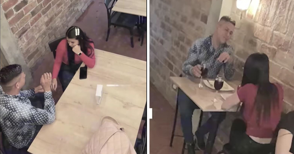 Viral: Joven tuvo dos citas al mismo tiempo en San Valentín || VIDEO