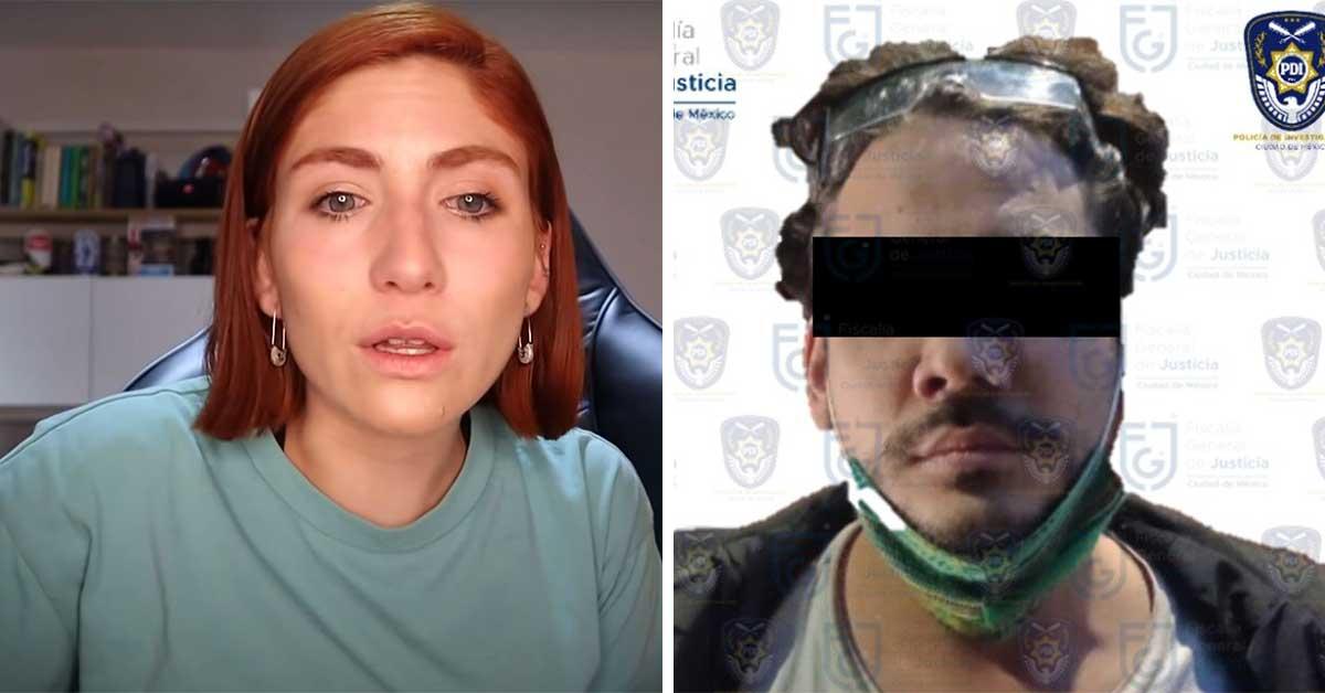 El Youtuber Rix fue arrestado por la Fiscalía de la CDMX por el caso de presunto abuso sexual contra Nath Campos
