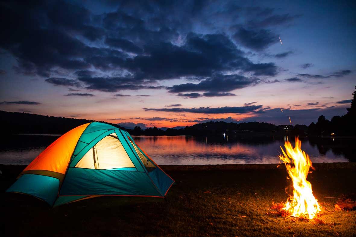 Además de disfrutar el paisaje que ofrece este sitio turístico puedes acampar