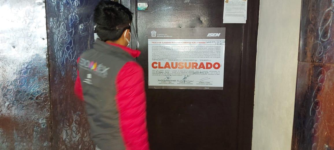 La Coprisem presentó denuncias ante el Ministerio Público por el delito de quebrantamiento de sellos y violación a las medidas de seguridad impuestas en contra de ocho negocios