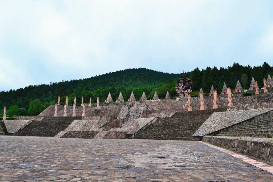 Visita el centro ceremonial Otomí y su hermosa vista