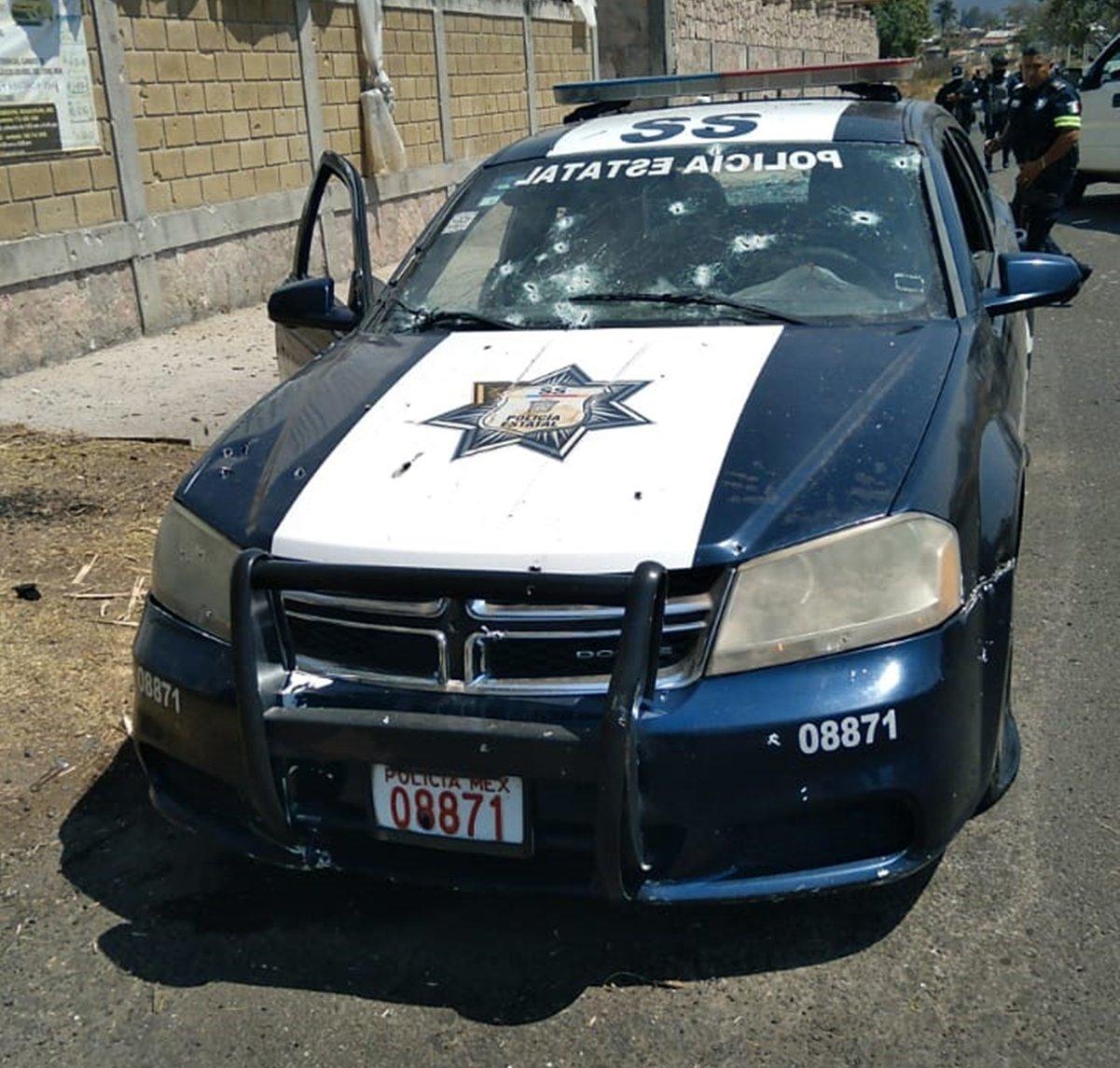 Componen rap a policías emboscados en Coatepec Harinas    VIDEO