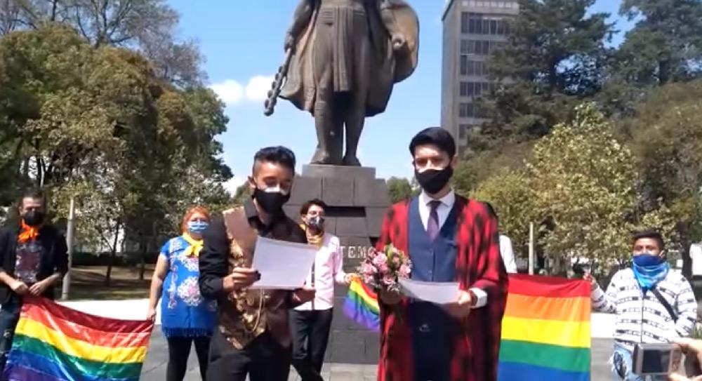 Pareja gay contrae nupcias en la capital mexiquense || VIDEO