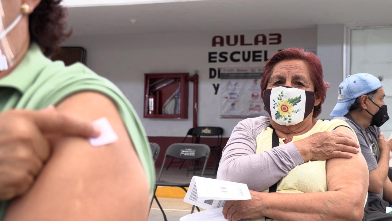 En una semana, más de 100 mil adultos mayores ecatepenses han sido vacunados contra el COVID-19 en 10 módulos de vacunación