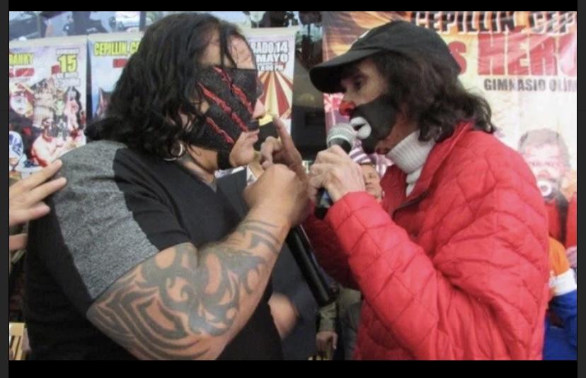 Enfrentamiento entre pirata morgan y cepillin