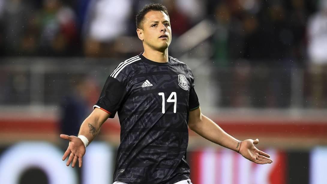 Frustración de Javier Hernández en la selección mexicana
