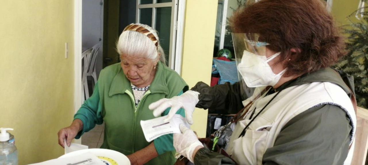 El ayuntamiento de Metepec informó que entregará la pensión para el Bienestar casa por casa