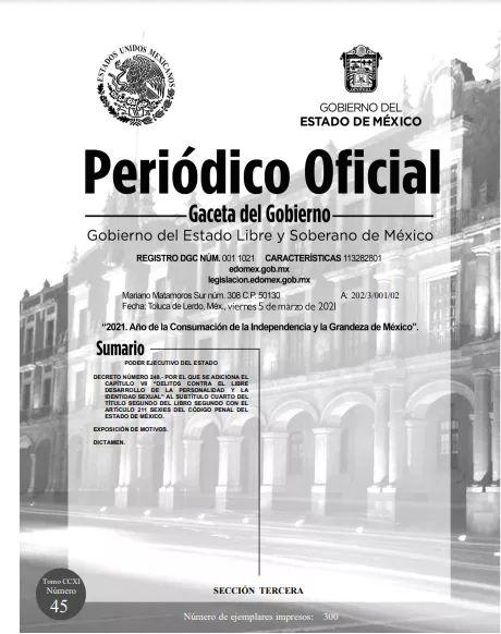 En la Gaceta Oficial del Estado se publicó el decreto de prohibición de las 'terapias de conversión' en el Edoméx