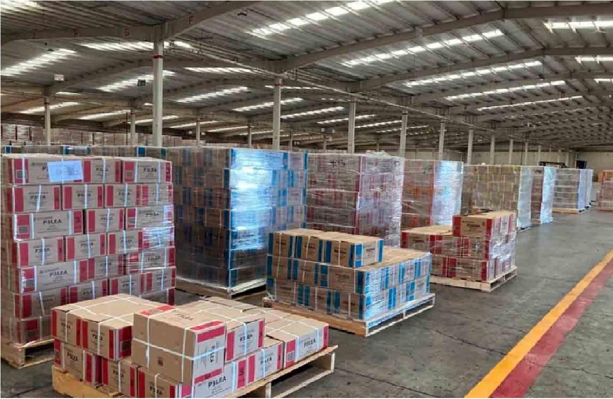 El pasado 16 de marzo se dio el banderazo de salida en la planta productora de libros de texto gratuito de la SEP ubicada en Querétaro
