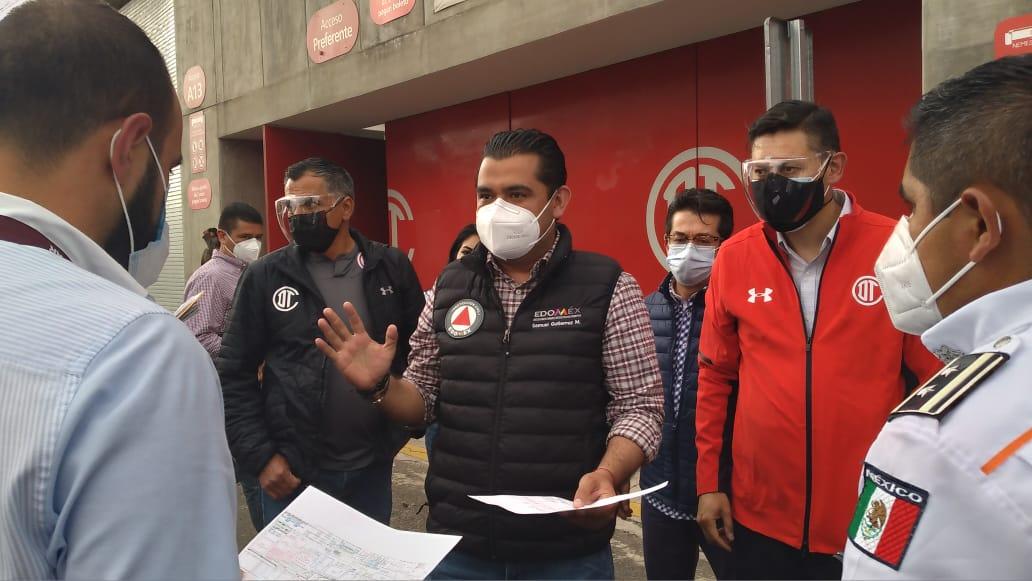 Los módulos de vacunación contra COVID-19 en Toluca se reportan listos