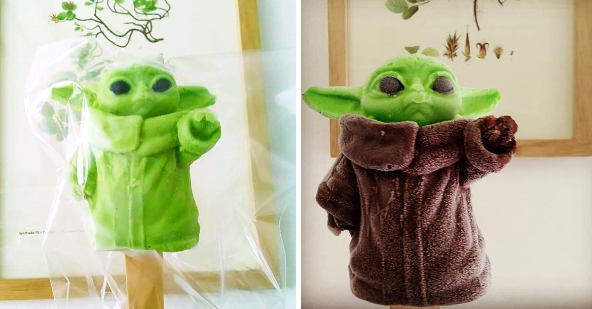 La Heladería Escandón en colaboración con Punksicles creó la paleta de hielo de Baby Yoda