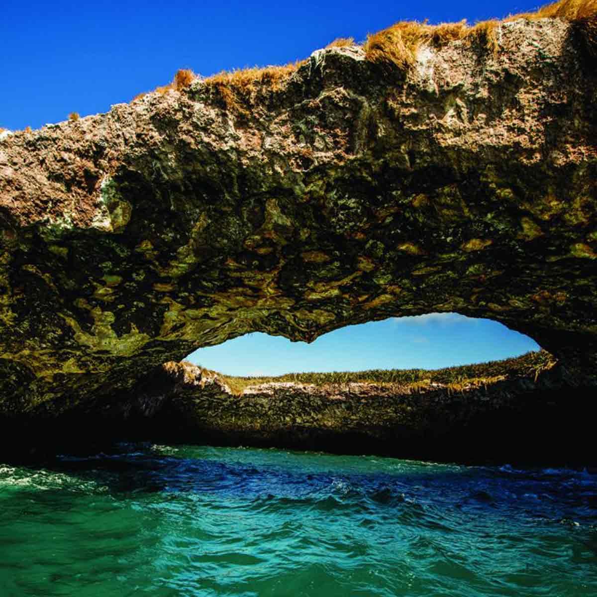 Riviera Nayarit presenta tour virtual por el Parque Nacional Islas Marietas con más de 30 imágenes en vista 360°, en el que se puede conocer Playa Escondida.
