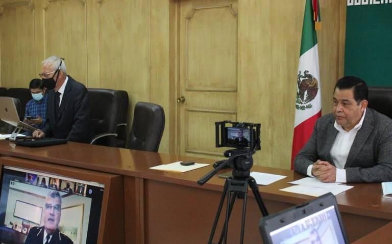 el presidente municipal de Nezahualcóyotl, Juan Hugo de la Rosa García reiteró su deseo para que este encuentro y capacitación resulte provechoso para la Policía Municipal