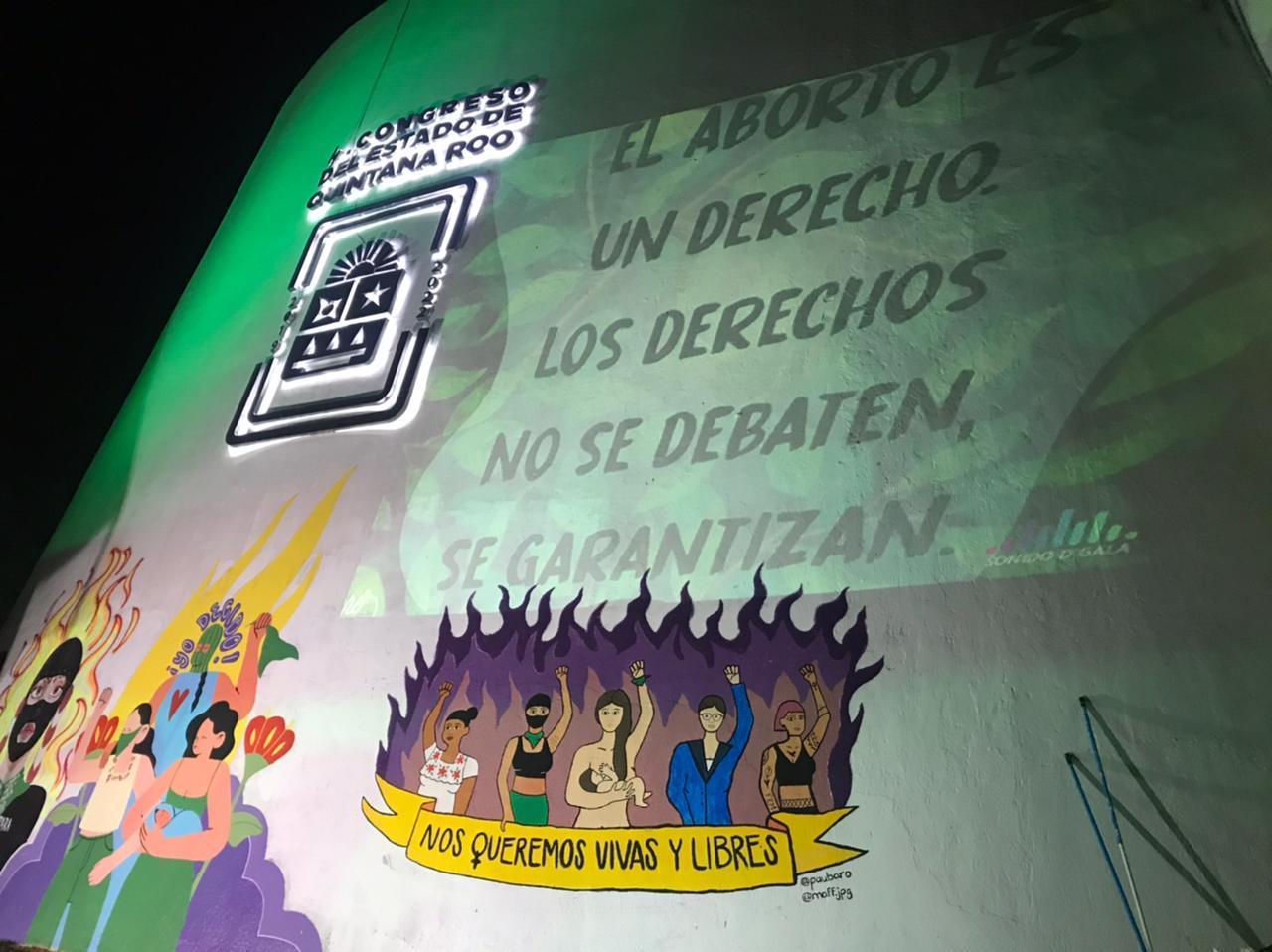 Con ocho votos a favor y 12 en contra, el Congreso de Quintana Roo rechazó este martes la despenalización del aborto
