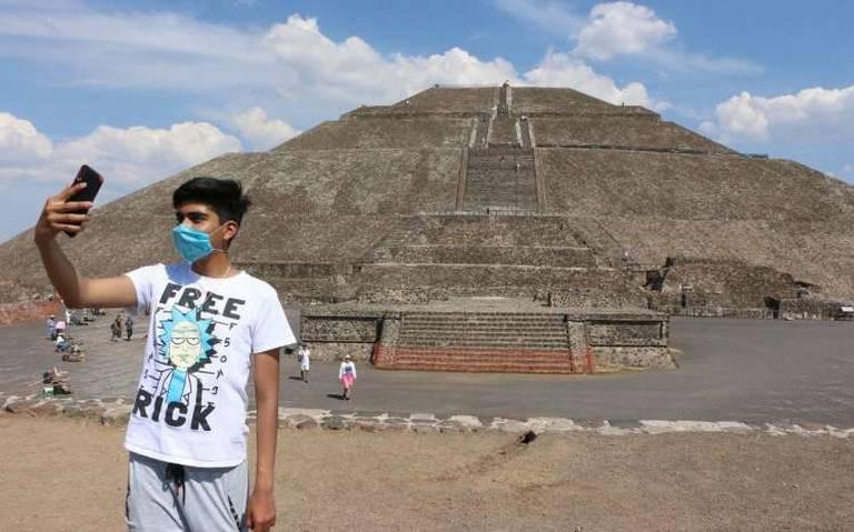 Teotihuacán en época de pandemia