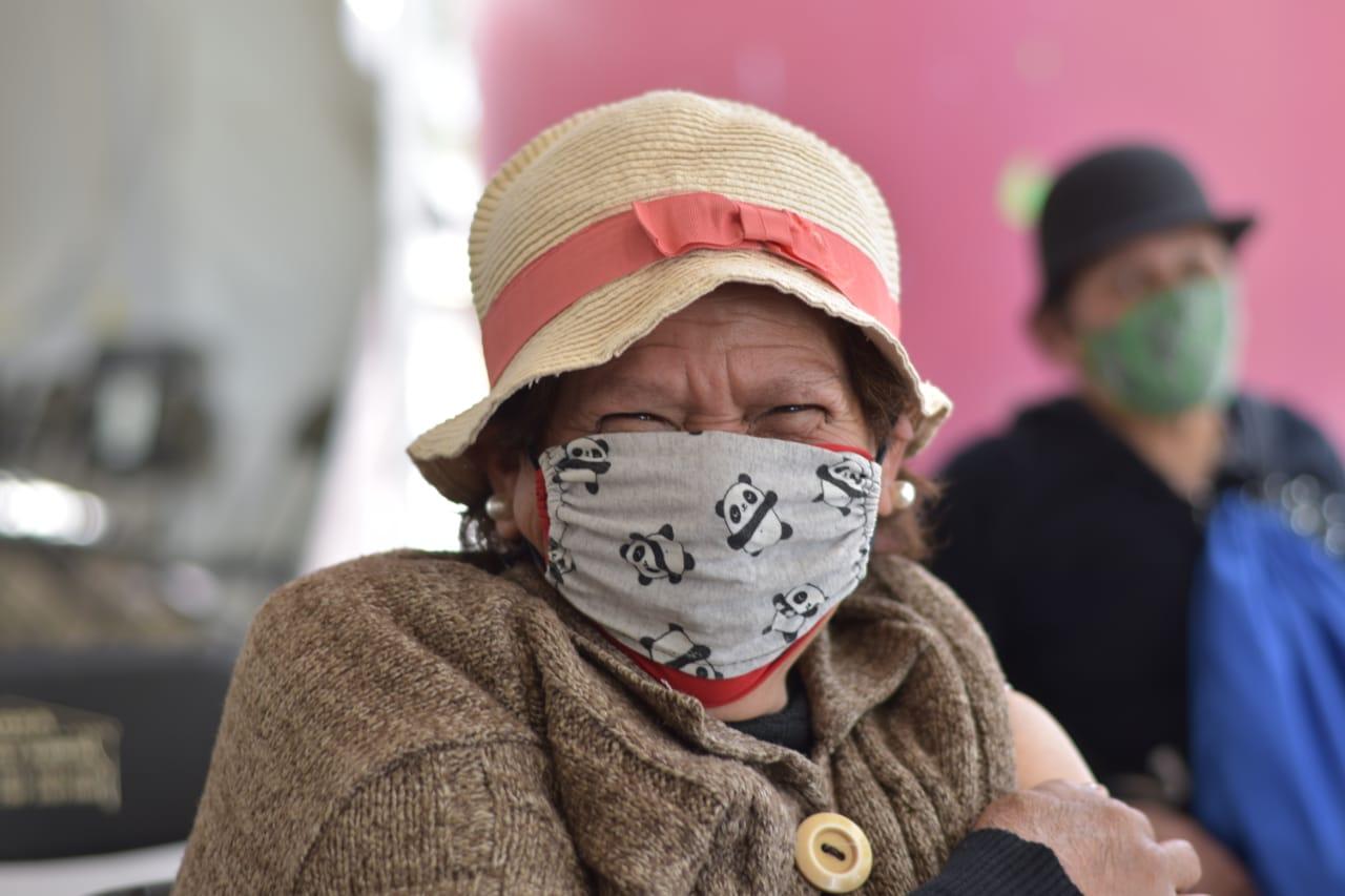 Más del 90% de los adultos mayores vacunados contra COVID-19 en Ecatepec